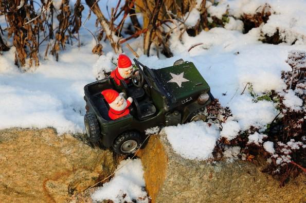 Tomtar och Jeep