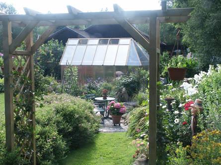 Växthus från platån