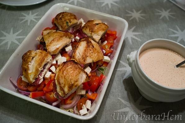 Kyckling-med-inbakad-salami