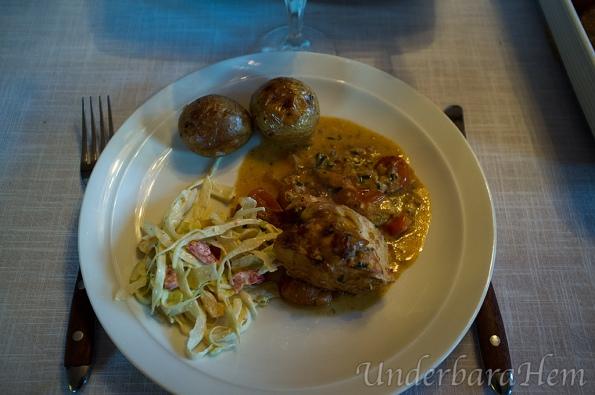 Kyckling-i-mascarpone-och-tomatsås