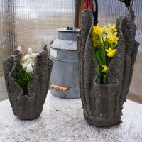 Handdukskrukor i betong!