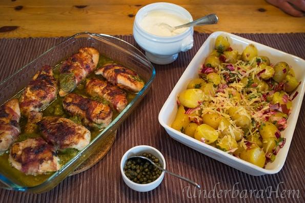 Fylld-kyckling-med-basilikakräm