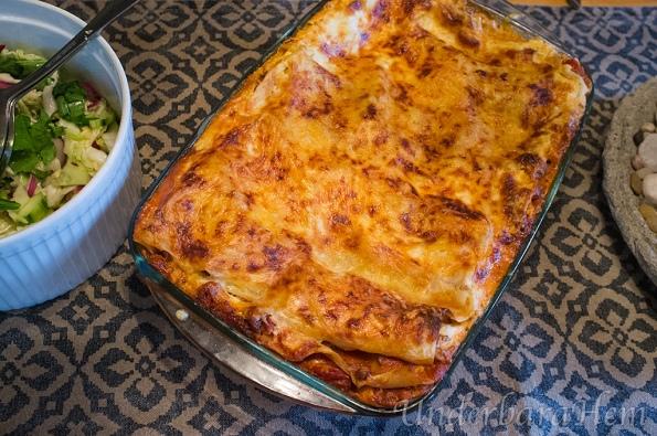 Krämig-lasagne