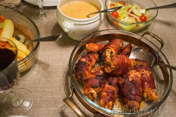 Kycklingfilé-med-smak-av-basilika-och-vitlök