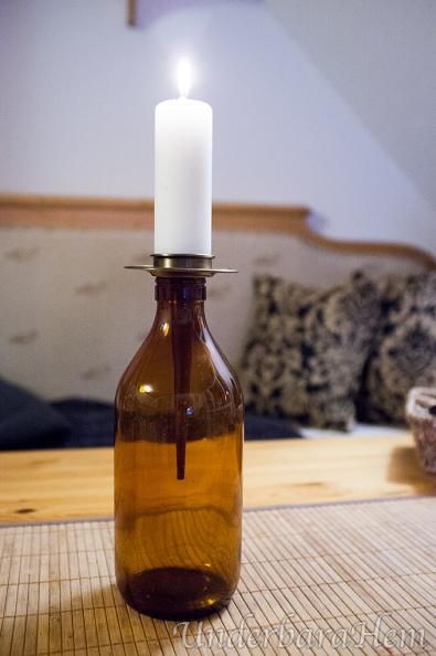 Ljushållare-mjölkflaska