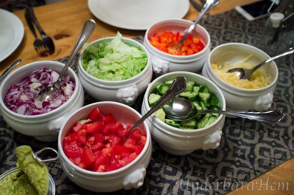 Taco-grönsaker