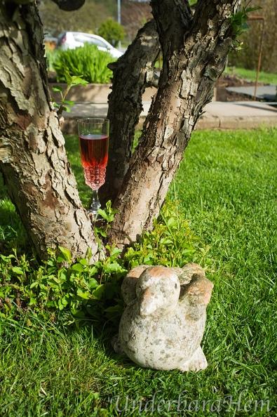 Rosévin-i-träd