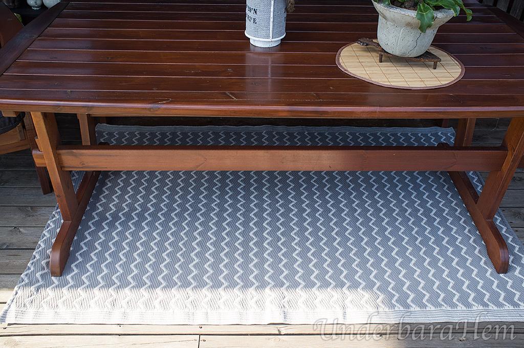 Bra Nya dynor och ny matta på altanen… härligt. | UnderbaraHem NX-86