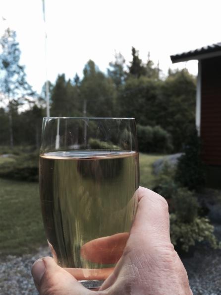 vitt vin och sol