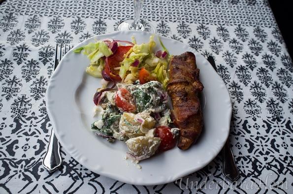 Chiligrillad-kyckling,-potatissallad-