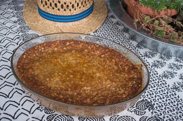 Knäckig-äppelkaka
