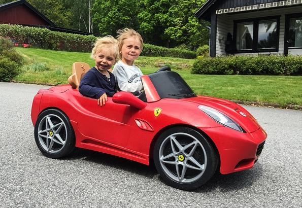 Ferrari-vind-i-håret