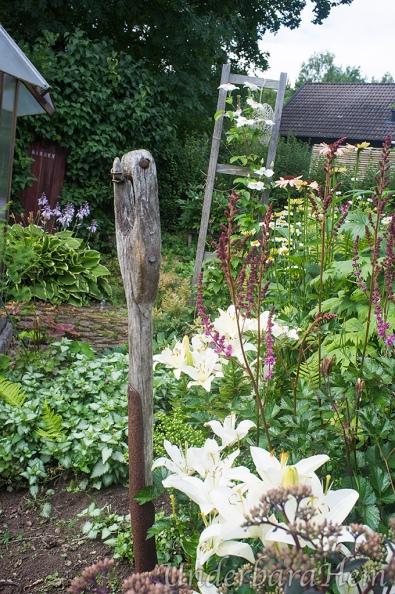 Vita-blommor-gammal-spade
