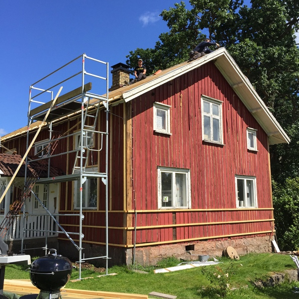 Mikael-på-taket