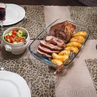 Porchetta med rostad potatis en kväll i januari!