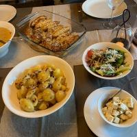 Pankomixad kycklingfilé med smörkokt potatis och varm dijonsås!